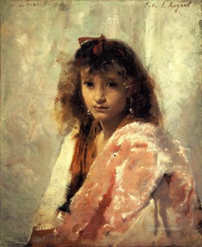 Carmela Bertagna portrait John Singer Sargent Oil Paintings